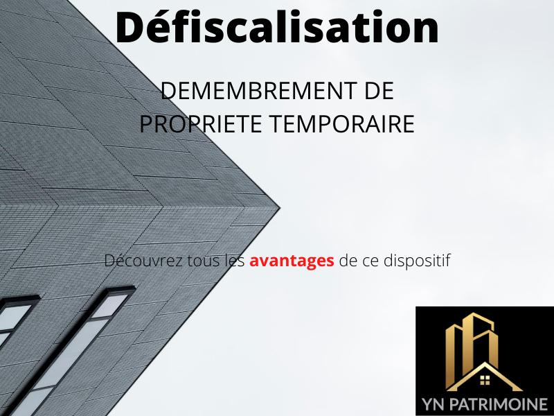 Défiscalisation - Démembrement de Propriété Temporaire