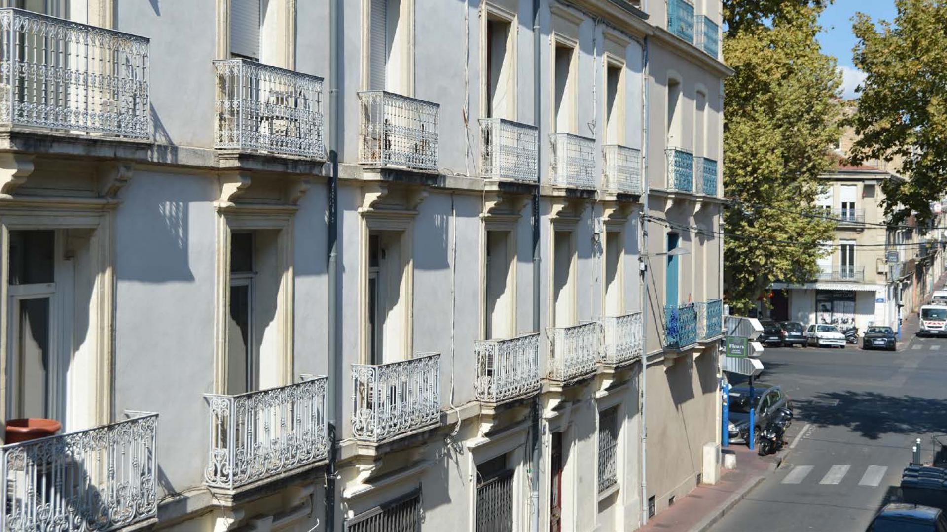 T2 rénové Montpellier centre éligible au déficit foncier