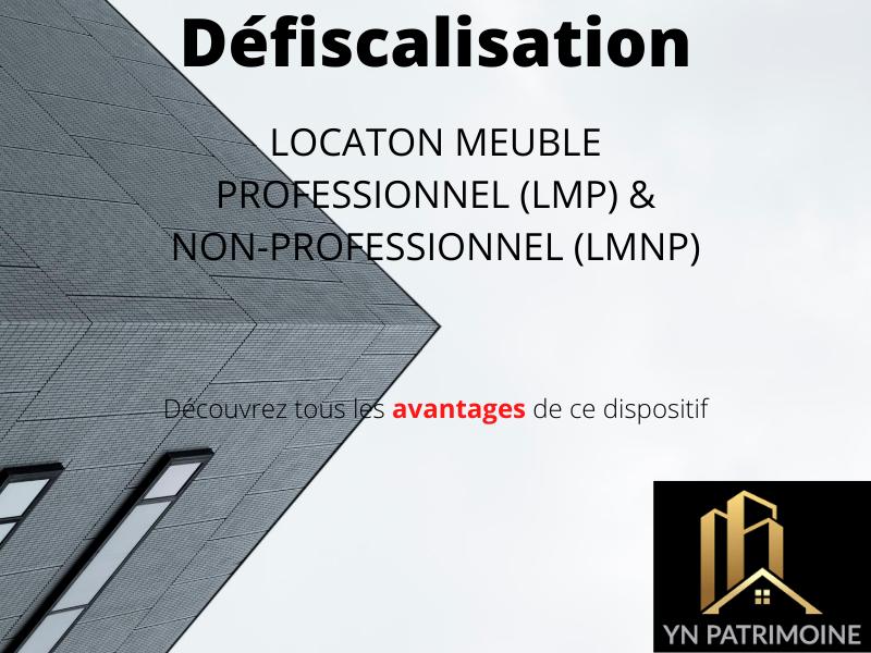 LMNP & LMP - Location Meublé Professionnel et Location Meublé Non Professionnel